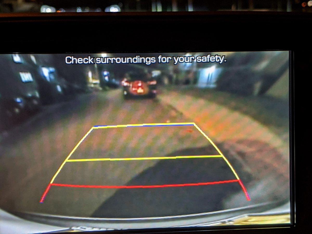 Hyundai Tucson 2021 backup camera blurry.jpg